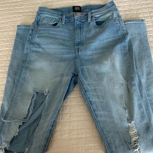 Urban Outfitters Ripped High Rise Jeans